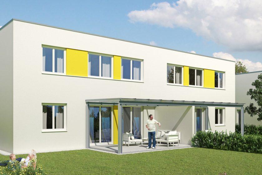 Doppelhaus-Wohnanlage in Neuhofen i.I.