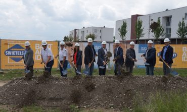 Reichersberg: erster Spatenstich für 15 neue Mietwohnungen