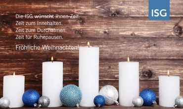 Frohe Weihnachten und ein glückliches neues Jahr!