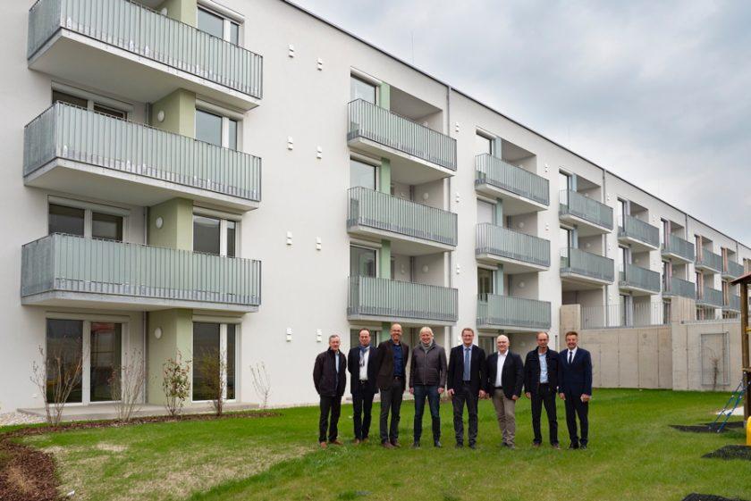 """Ried: Vorletzter Bauteil der Wohnanlage """"Riedauer Straße"""" fertig gestellt"""