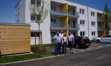 Helpfau-Uttendorf: 15 neue Mietwohnungen erfreuen die Gemeinde