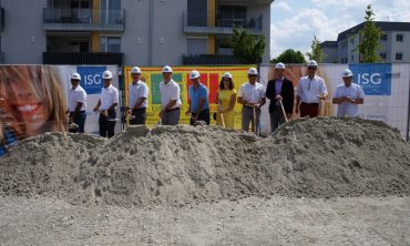 Eberschwang feiert Baubeginn für 12 neue Mietwohnungen