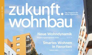 """""""Zukunft.Wohnbau"""" – 1. ARGE Magazin 2020 veröffentlicht"""